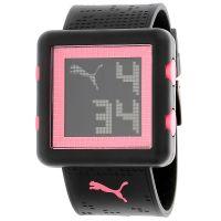 Puma Uhr PU910842001 Damenuhr Digital Schwarz Rosa Pink Lady Watch NEU & OVP