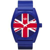 Adidas Uhr ADH9036 Santiago Herren Damen Armbanduhr Blau Rot Watch NEU & OVP