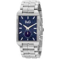 Dolce&Gabbana Uhr DW0638 Herrenuhr Silber Blau Edelstahl Armbanduhr NEU & OVP