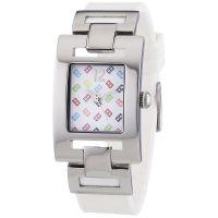 Tommy Hilfiger Uhr 1781066 Damenuhr Weiß Silber Silikon Lady Watch NEU & OVP
