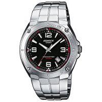 Casio Edifice EF-126D-1AVEF Herren Armbanduhr Edelstahl Schwarz Silber NEU & OVP