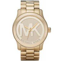 Michael Kors Uhr MK5473 Unisex Lady Men Gold Edelstahl Armbanduhr XL NEU & OVP