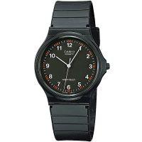 Casio Uhr MQ-24-1BLL Herren Damen Armbanduhr Schwarz Silber Watch NEU & OVP