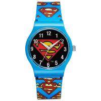 Warner Bros Uhr SM-02 Superman Kinderuhr Jungen Uhr Boys Watch Blau NEU & OVP