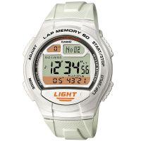 Casio Digitaluhr W-734-7A Armbanduhr Herren Damen Weiß Sport watch NEU & OVP
