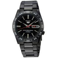 Seiko 5 Gents Uhr SNKE03K1 Automatikuhr Schwarz Black Herrenuhr Datum NEU & OVP