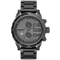 Diesel Uhr DZ4314 Herrenuhr XXL Chronograph Anthrazit Edelstahl Watch NEU & OVP
