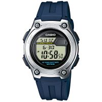 Casio Uhr W-211-2AVES Herren Damen Digital Armbanduhr Blau Watch NEU & OVP