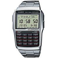 Casio Uhr DBC-32D-1AES Taschenrechner Digital Armbanduhr Herren Silber NEU & OVP
