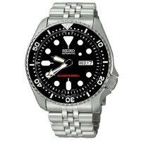 Seiko Uhr SKX007K2 Automatikuhr Herren Taucheruhr Schwarz Divers Watch NEU & OVP
