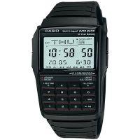 Casio Uhr DBC-32-1AES Digital Armbanduhr Herren Schwarz Taschenrechner NEU & OVP
