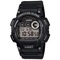 Casio Uhr W-735H-1A Herren Digitaluhr Armbanduhr Schwarz Silber NEU & OVP
