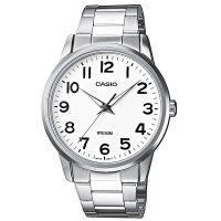 Casio Uhr MTP-1303PD-7BVEF Herren Edelstahlarmband Silber Schwarz NEU & OVP