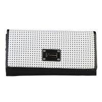 Gattinoni Geldbörse K40CX7P164 Schwarz Weiß Damen Portmonee Wallet NEU & OVP