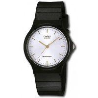 Casio Uhr MQ-24-7E2LDF Herren Damen Armbanduhr Silber Schwarz Watch NEU & OVP