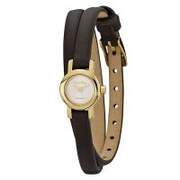 Pandora Damen Uhr 812033WH Leder Armband Gold Braun Lady Watch NEU & OVP