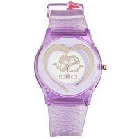 Fiorucci Uhr FR140_2 Kinderuhr Mädchen Lila Herz Children's Watch NEU & OVP