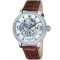 Thomas Earnshaw Uhr ES-8011-01 Automatikuhr Herren Leder Braun Watch NEU & OVP