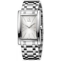 Calvin Klein Uhr K4P21146 Refine Herren Edelstahl Silber Swiss Made NEU & OVP