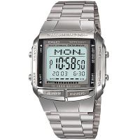 Casio Uhr DB-360N-1AEF Digital Armbanduhr Herren Edelstahl Silber Watch NEU & OVP