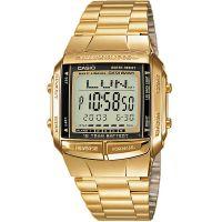 Casio Uhr DB-360GN-9AEF Digitaluhr Armbanduhr Herren Edelstahl Gold NEU & OVP