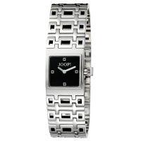 Joop Uhr JP100292002 Damen Edelstahlarmband Silber Schwarz Watch NEU & OVP