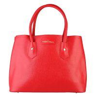 Made in Italia Handtasche Fatima Saffiano Rosso Damen Rot Bag Women NEU & OVP