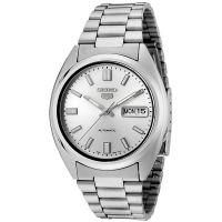 Seiko 5 Gent Uhr SNXS73K Automatikuhr Silber Herrenuhr Watch Men NEU & OVP