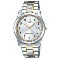 Casio Uhr MTP-1264PG-7B Herren Armbanduhr Edelstahl Gold Silber Datum NEU & OVP
