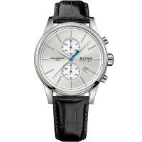 Hugo Boss Uhr 1513282 Herren Chronograph Leder Schwarz Edelstahl Watch NEU & OVP