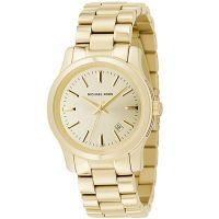 Michael Kors Uhr MK5160 Runway Damenuhr Gold Edelstahl Lady Watch Date NEU & OVP