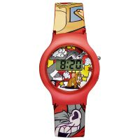 Warner Bros Tom & Jerry Uhr TJ-01 Kinderuhr Jungen Uhr Boys Watch Rot NEU & OVP