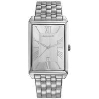 Pierre Cardin Uhr PC107211F12 Belneuf Herren Edelstahl Silber Datum NEU & OVP