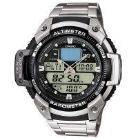 Casio Uhr SGW-400HD-1B Herren Analog Digital Silber B-WARE mit Gebrauchsspuren