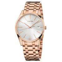 Calvin Klein Uhr K4N23646 Time Damen Edelstahl Roségold Swiss Made NEU & OVP
