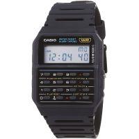 Casio Uhr CA-53W-1CR Taschenrechner Armbanduhr Retro Digital Herren Schwarz NEU & OVP