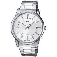 Casio Uhr MTP-1303PD-7A Herren Armbanduhr Edelstahl Silber Watch NEU & OVP
