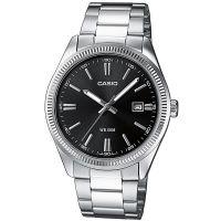 Casio Uhr MTP-1302PD-1A1VDF Herren Armbanduhr Edelstahl Schwarz Datum NEU & OVP