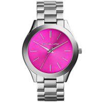 Michael Kors Uhr MK3291 Runway Damenuhr Silber Pink Edelstahl Slim NEU & OVP