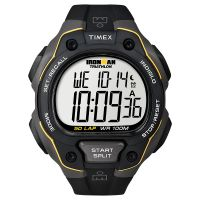 Timex Uhr T5K494 IRONMAN Classic 50 Full-Size Digital Black Watch NEU & OVP