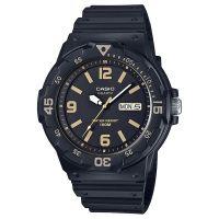 Casio Uhr MRW-200H-1B3 Damen Herren Armbanduhr Schwarz Gold Sport NEU & OVP