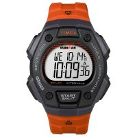 Timex Uhr TW5K86200 IRONMAN Classic 50 Full-Size Digital Orange Watch NEU & OVP