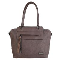 Pierre Cardin Handtasche AB48_28021_TMORO Damen Braun Tasche Women Bag NEU & OVP