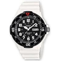 Casio Uhr MRW-200HC-7B Herren Damen Armbanduhr Weiß Schwarz Sport NEU & OVP