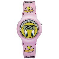 Warner Bros Uhr TW-01 Tweety Kinderuhr Mädchen Uhr Girls Watch Rosa NEU & OVP