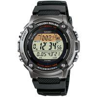 Casio Uhr W-S200H-1A Herren Solaruhr Digital Armbanduhr Schwarz Grau NEU & OVP