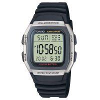 Casio Uhr W-96H-1A Herren Damen Digitaluhr Armbanduhr Grau Schwarz NEU & OVP