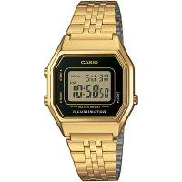 Casio Collection Digitaluhr LA680WEGA-1ER Armbanduhr Damen Gold black NEU & OVP