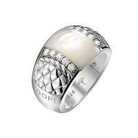Joop Ring JPRG90474A550 Damen Perlmutt Stein 925er Sterling Silber NEU & OVP