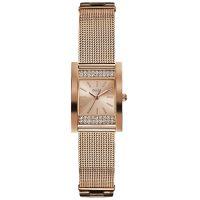 Guess Uhr W0127L3 Damenuhr Rosé Gold Zirkonia Edelstahl Armband Watch NEU & OVP